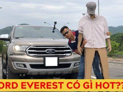 Tìm hiểu công nghệ trên Ford Everest 2020