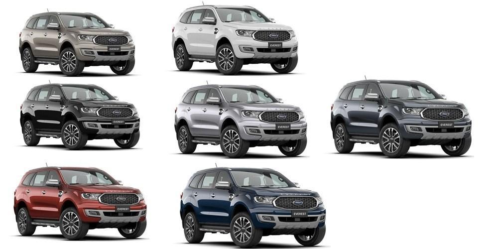 Hình ảnh Ford Everest 2021