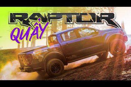 """""""Quẩy"""" Ford Ranger Raptor trên đồi cỏ hồng Đà Lạt"""